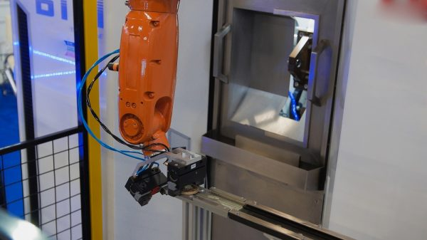 Robotik Transfer Tezgah Besleme Otomasyonu