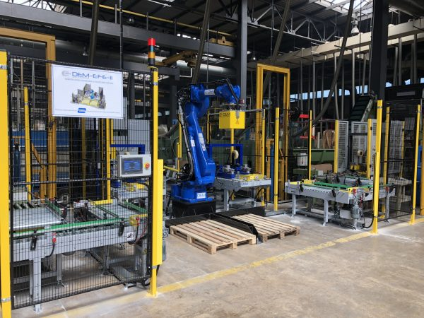 Robotic Palletizing Automation