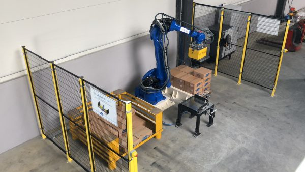 Robotik Kutu ve Koli Paletleme Otomasyonu